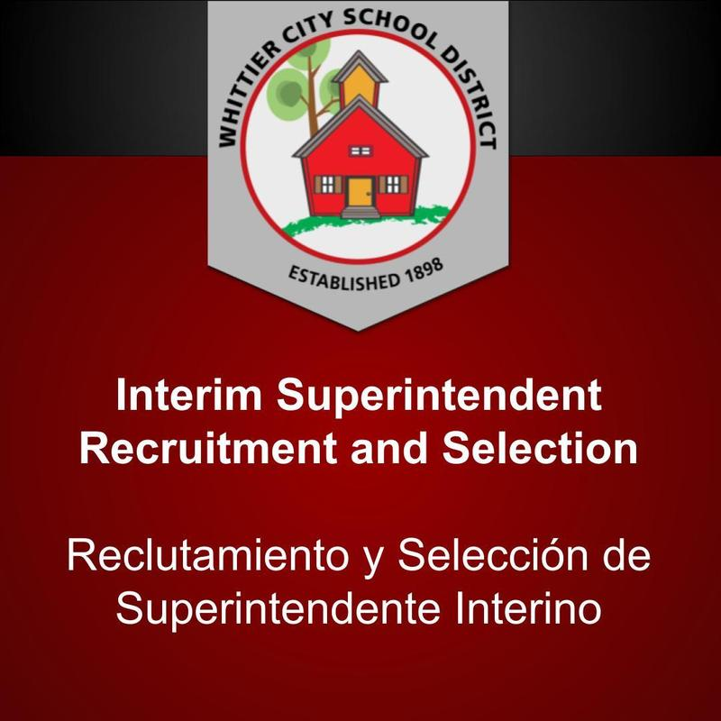 Interim Superintendent Recruitment and Selection