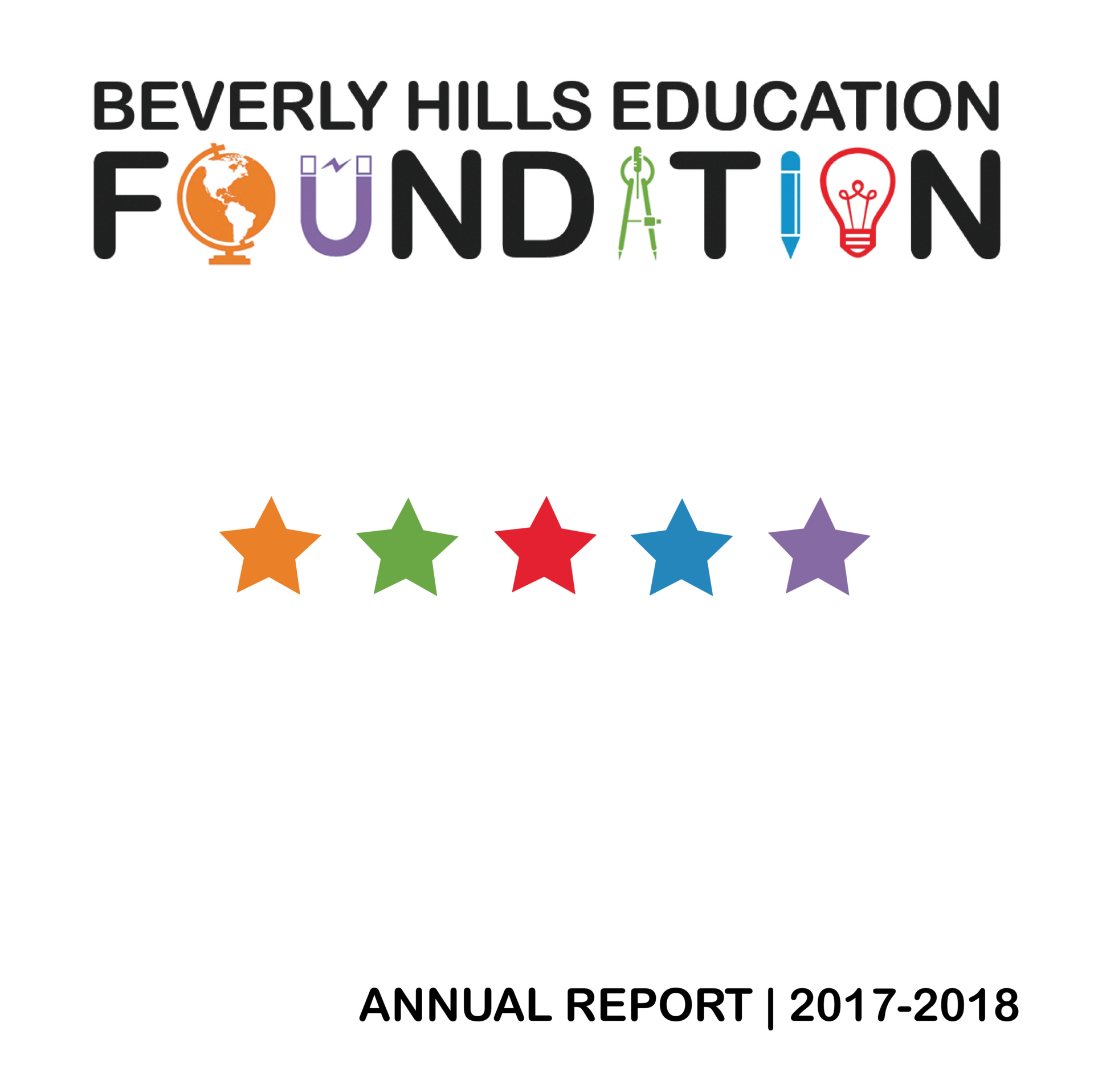 cover for 2017-2018 annual report