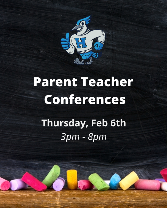Parent Teacher Conferences February 6th