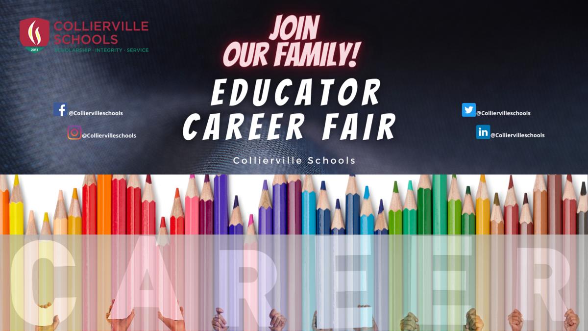Educator Career Fair Info-graphic