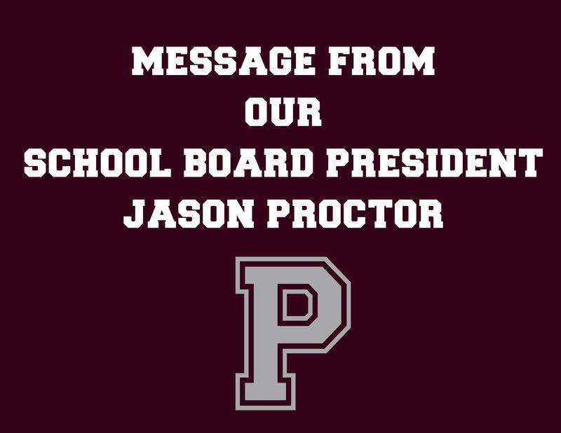 school board letter
