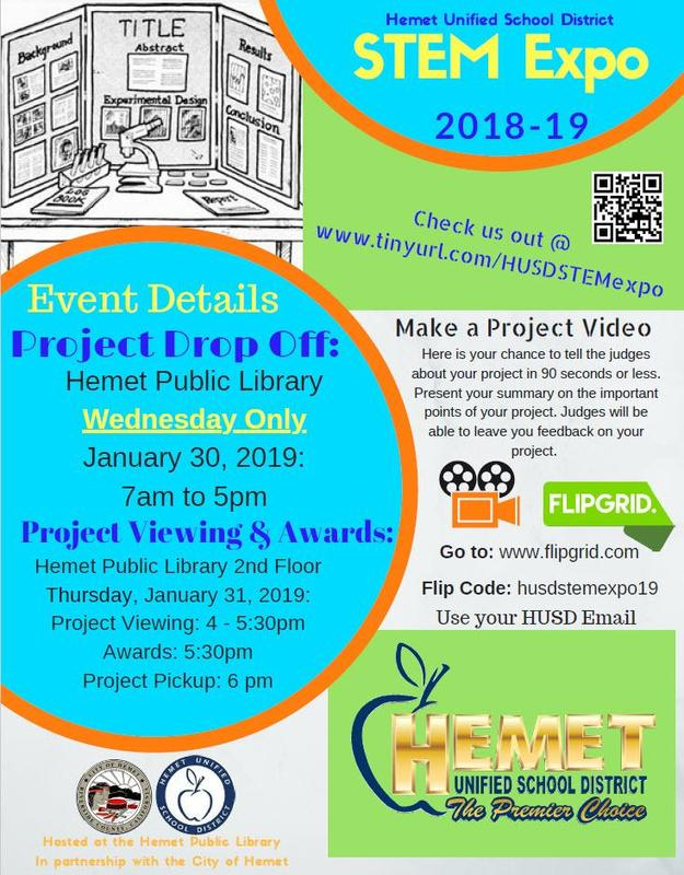 STEM Expo Info