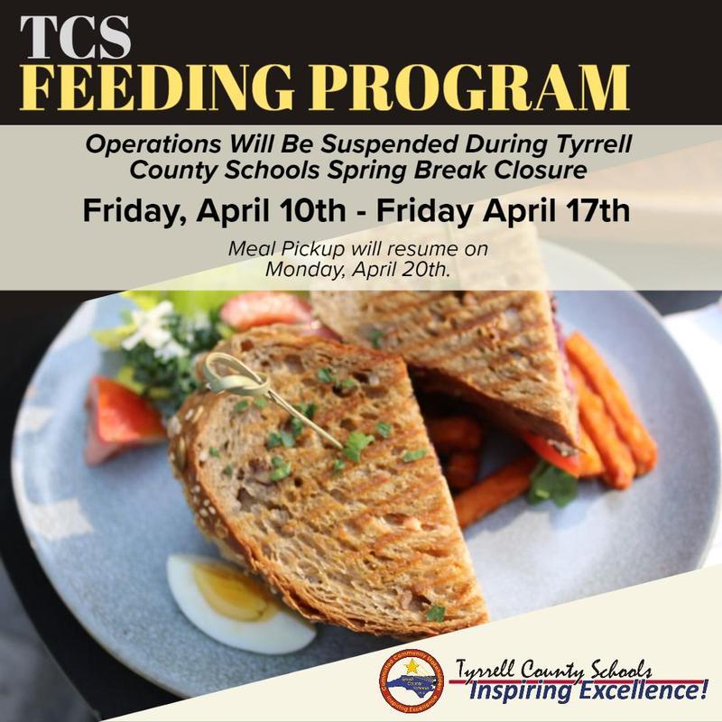 TCS Feeding Program Suspended Through Spring Break