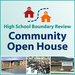 HS Boundary Open House graphic