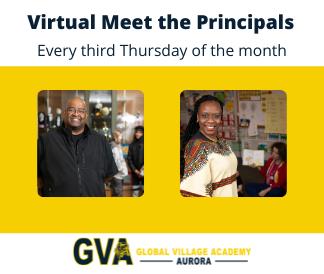 Virtual meet the principal every third Thursday