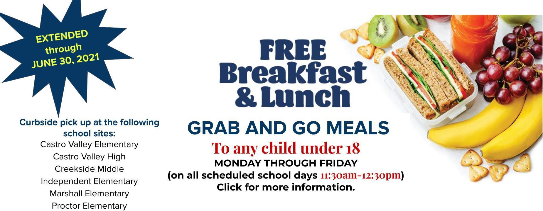 grab and go meal information