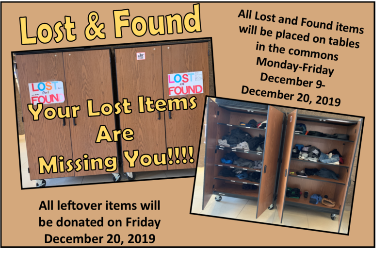Lost and Found notices