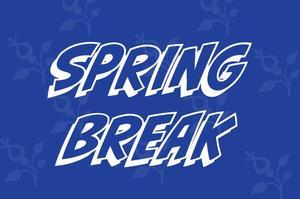 Spring Break All Caps
