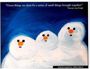 January Snowman Photo