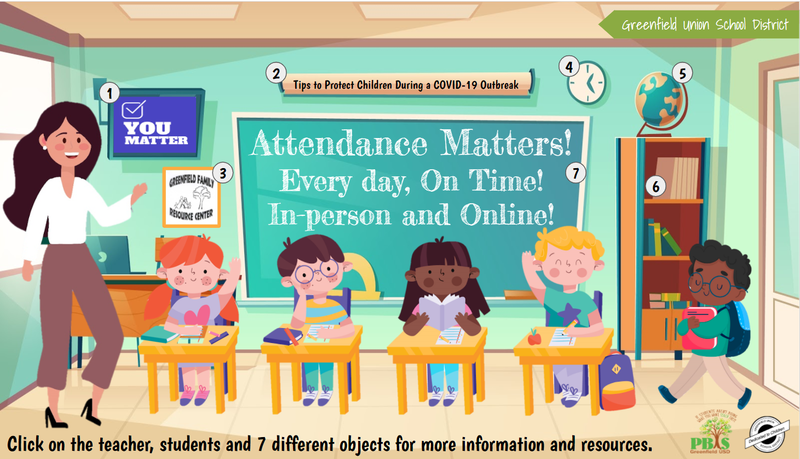 Attendance Matters - Click here to enlarge. Thumbnail Image