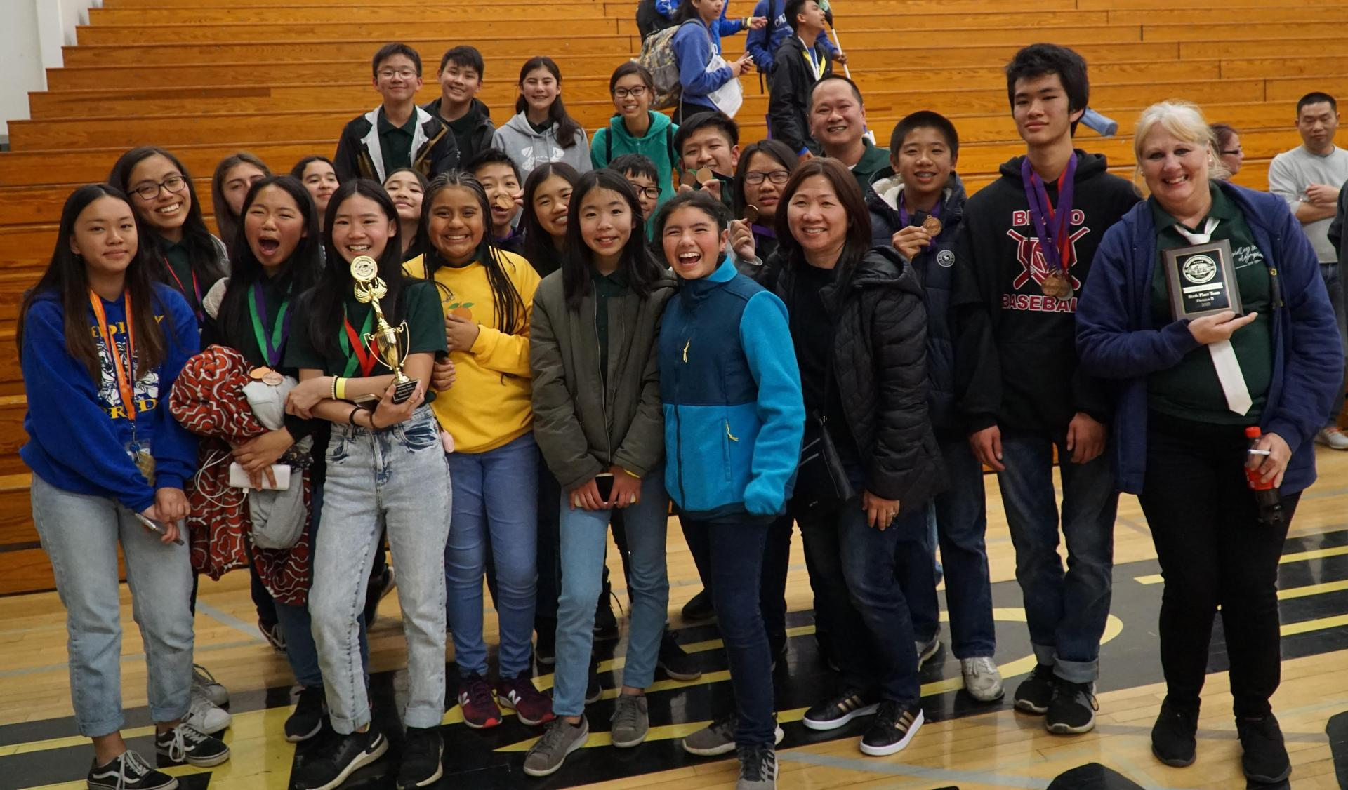 EMCSD Students at Science Olympiad