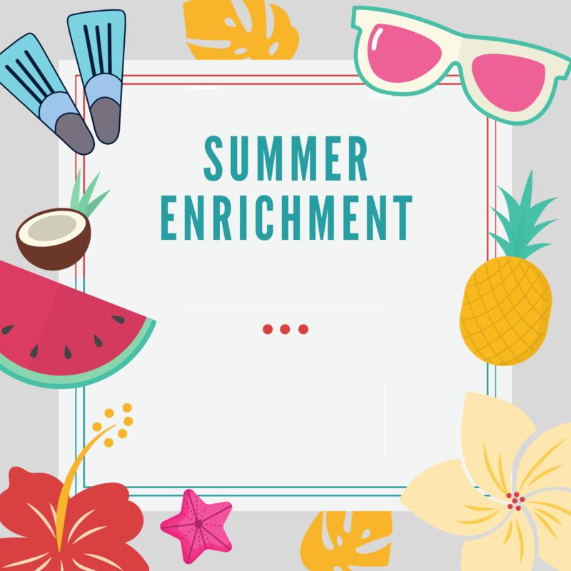 Summer Enrichment 2021 Featured Photo