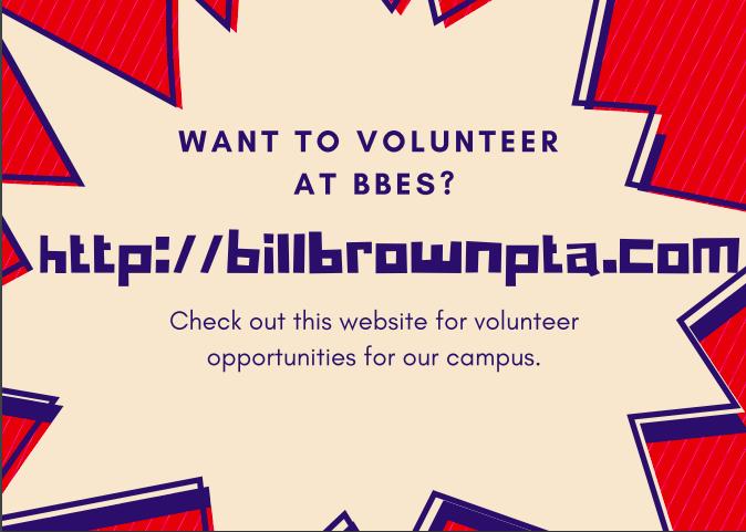 Bill Brown PTA Website Information