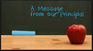 MESSAGE FROM THE PRINCIPAL Featured Photo
