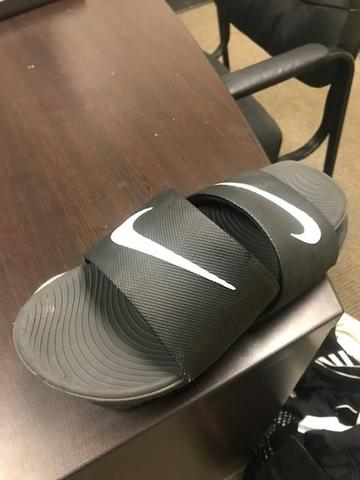 Black Nike Slides found 4/12/19