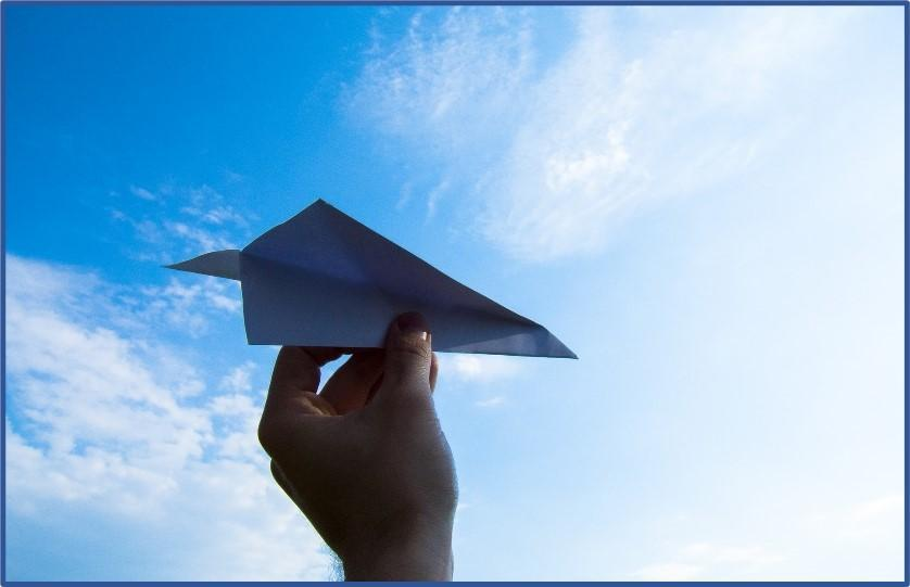 Remake Learning Days Paper Airplane