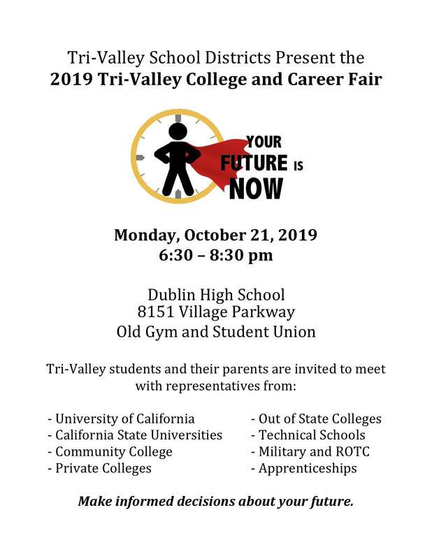 Tri-Valley College & Career Fair Featured Photo