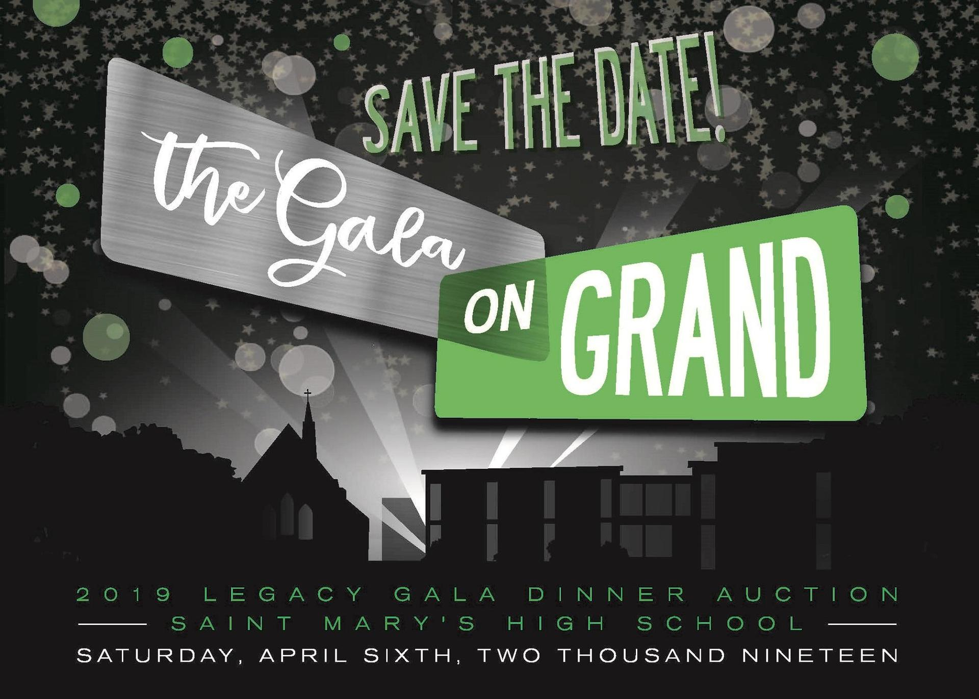 Legacy Gala Dinner Auction