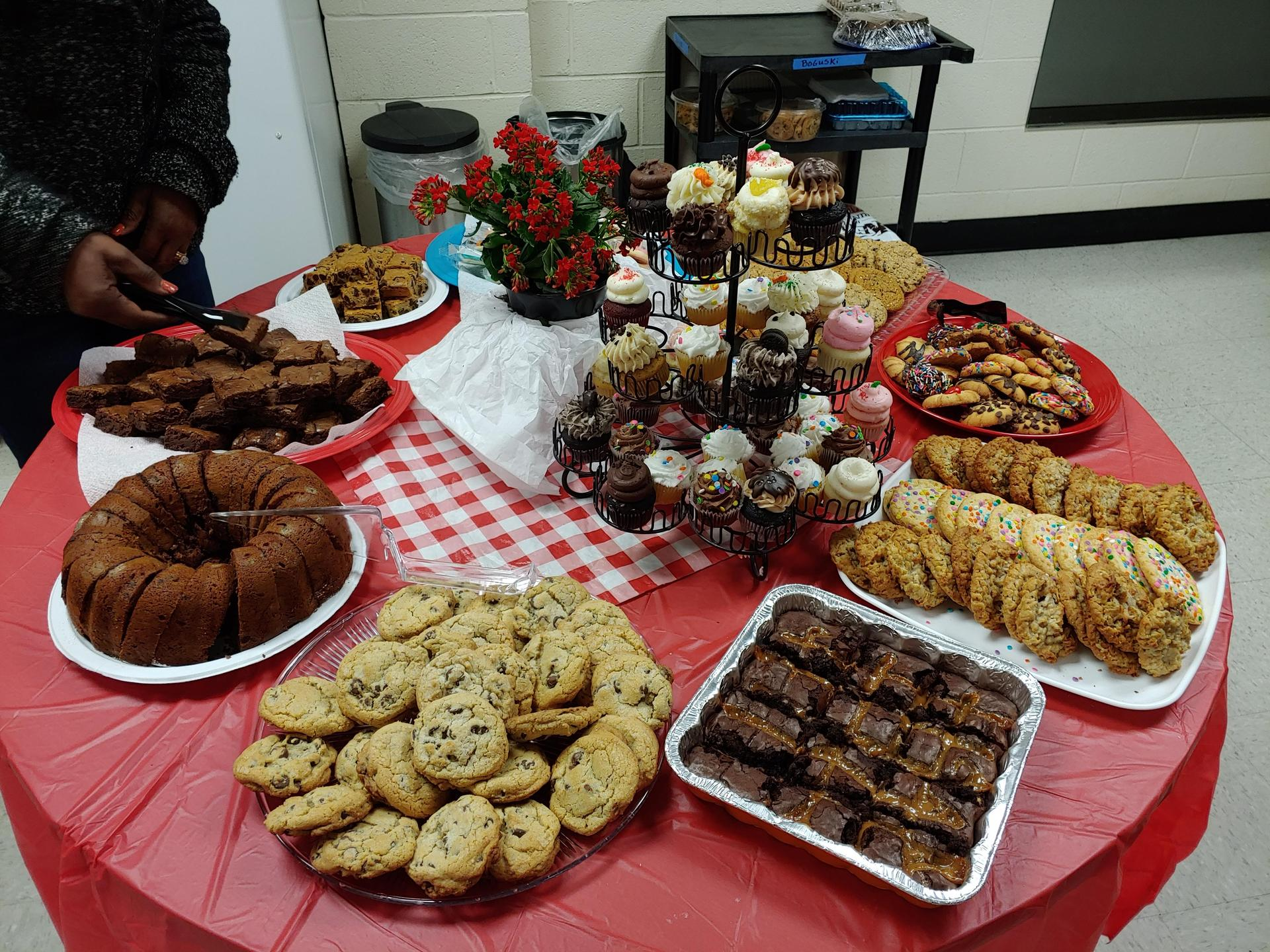 Welcoming in March - THANKS PARENTS FOR THE LUNCH