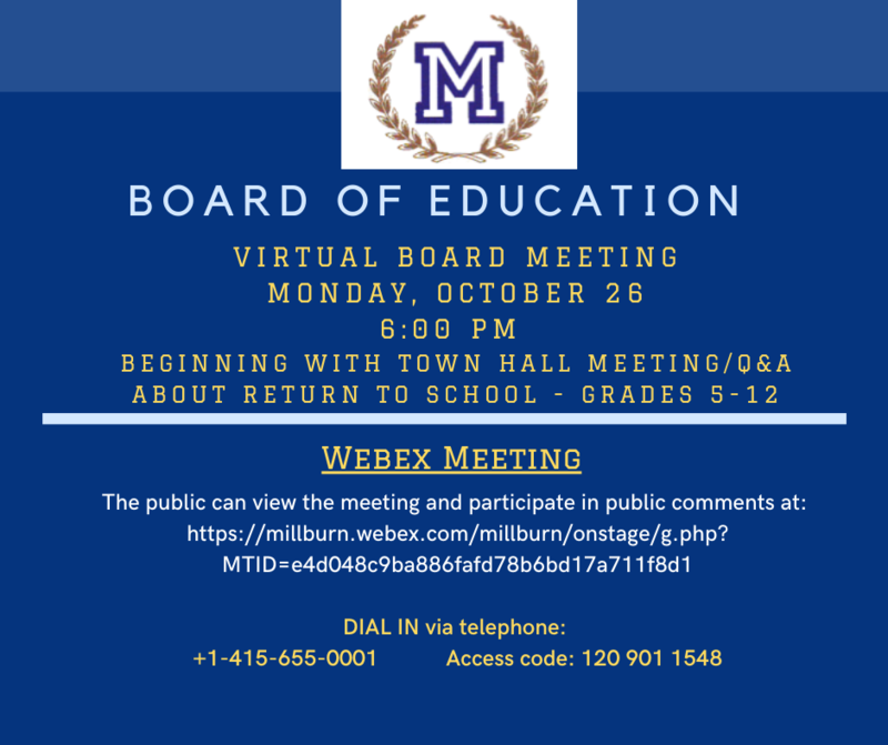 board announcement