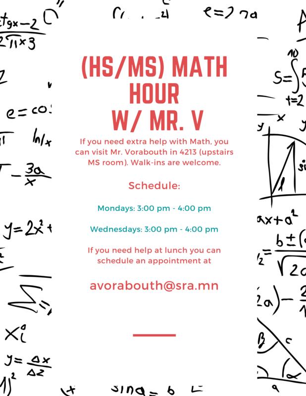 MS & HS Math Hour