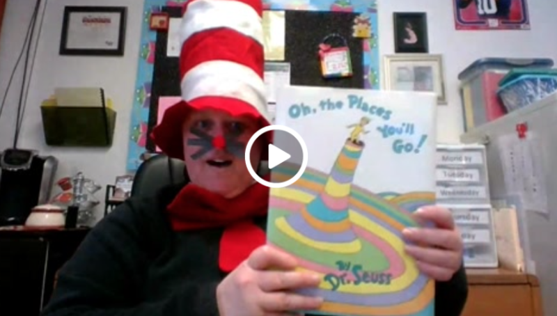 Oh the Places You'll Go by Dr. Seuss. Featured Photo