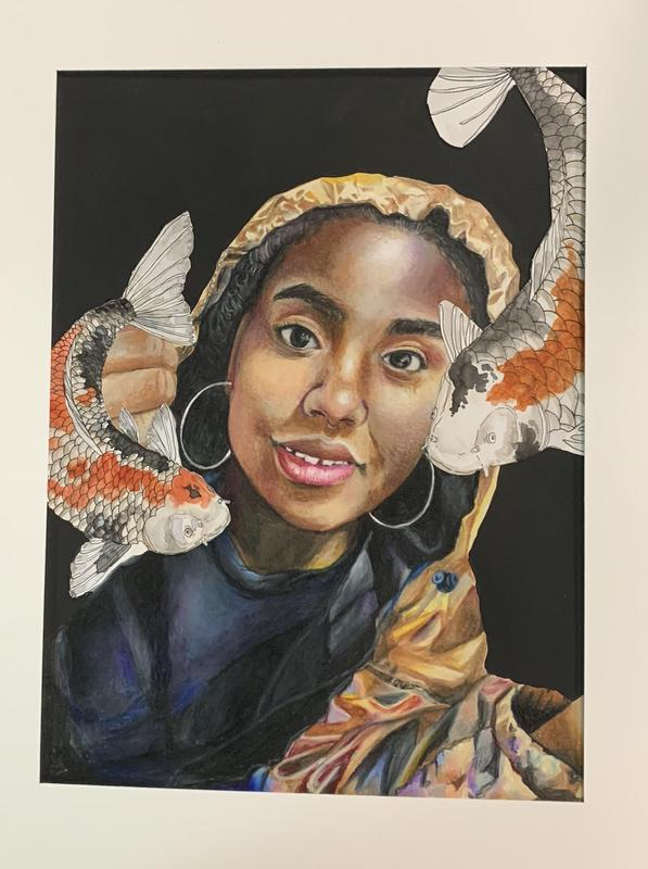 MNTHS Student Artwork Selected for TEA's Youth Art Month Capitol Celebration Thumbnail Image