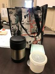 Lunch bag with thermos 3/19