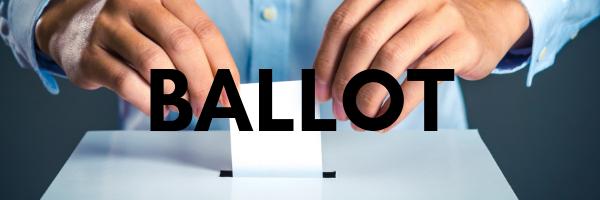 ballott button