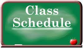 Class Schedule Clipart