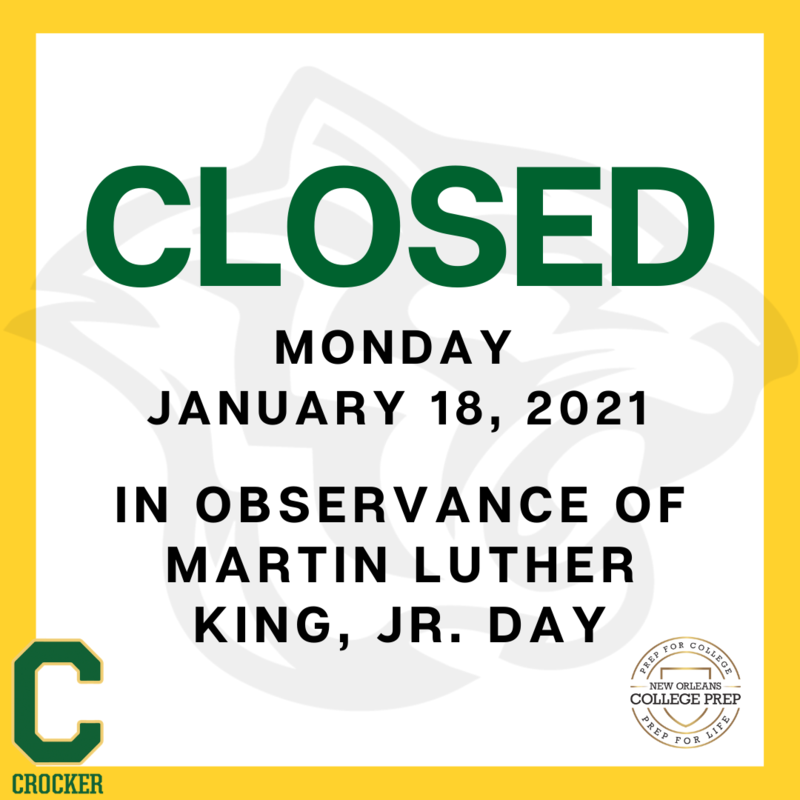 Closed 1/18/2021 in observance of Martin Luther King, Jr. Day Featured Photo