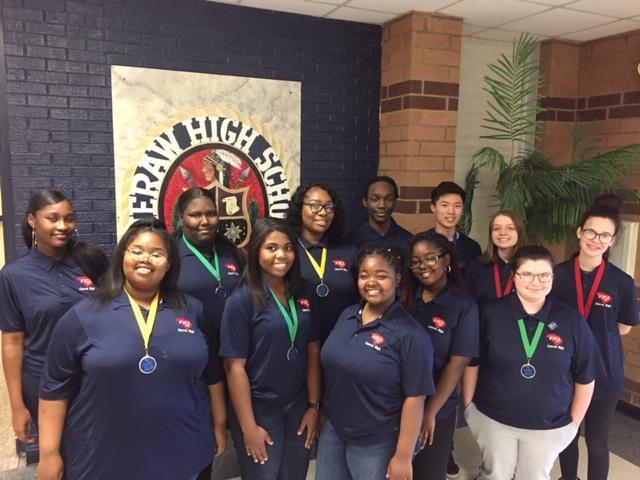 Cheraw FBLA student compete at the district level Featured Photo