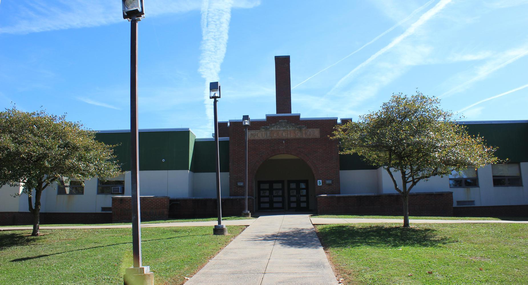 Exterior of McCullough Elementary School