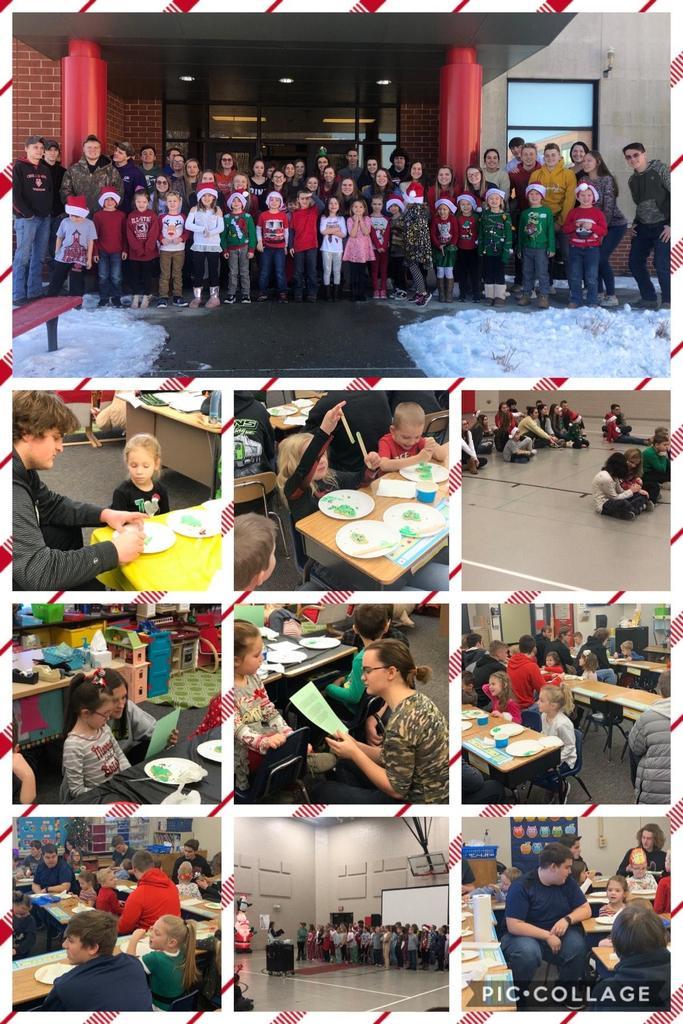 Seniors & Kindergarten Students 1