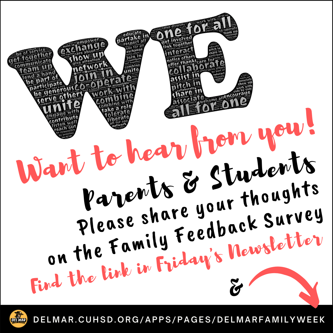 image of family survey to be included in friday sept 18 newsletter