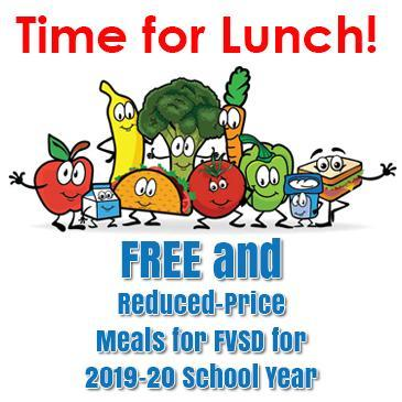 FVSD Free and Reduced Lunch