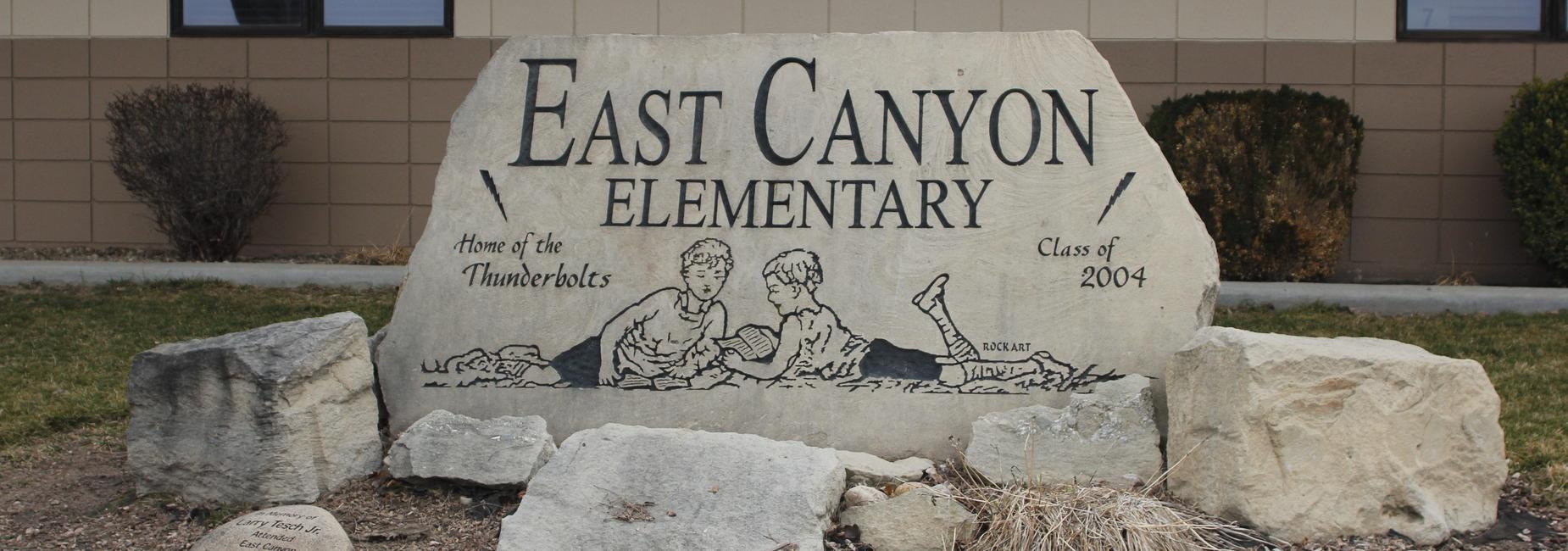 East Canyon Sign