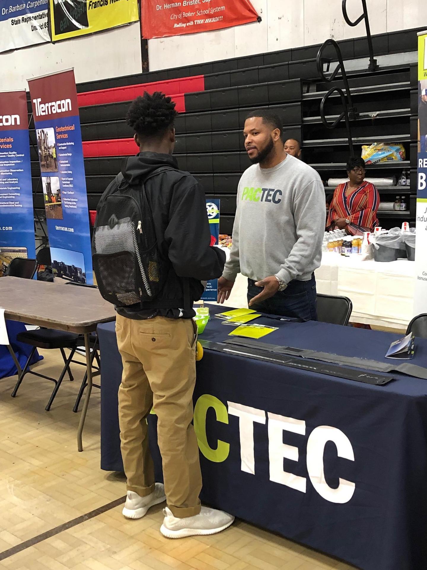 A photo from the 2019 Baker High School College & Career Fair