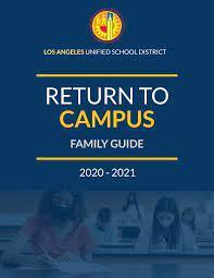 Return to Campus Family Guide/Volver al Campus Guía Familiar Featured Photo