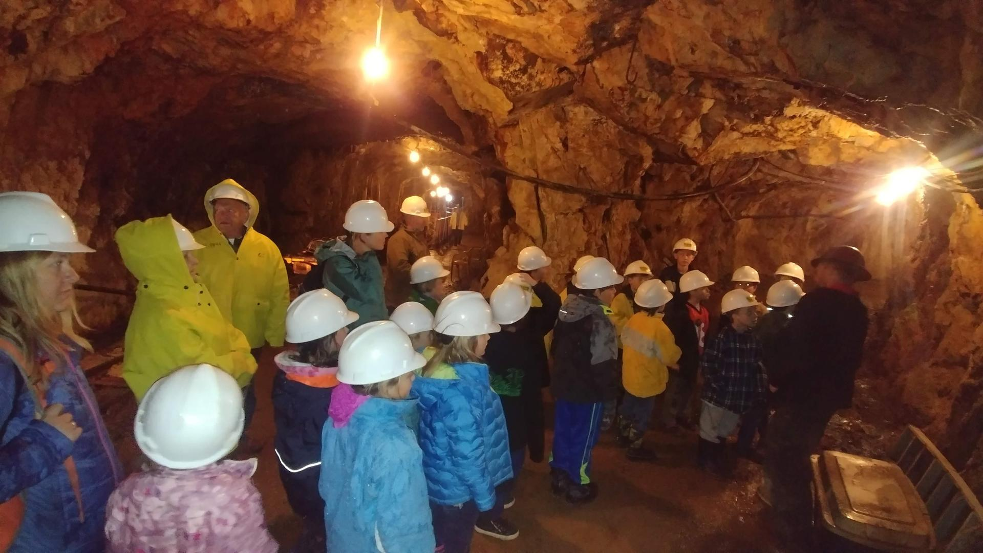 Into the mine!