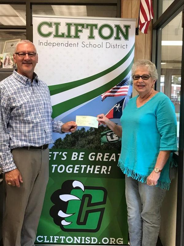 Thanks to the Clifton Higher Education Finance Corporation for approving grant requests in access of $18,500 for #TeamCES, #TeamCMS and #TeamCHS. We greatly appreciate their support of all #TeamCISD students.