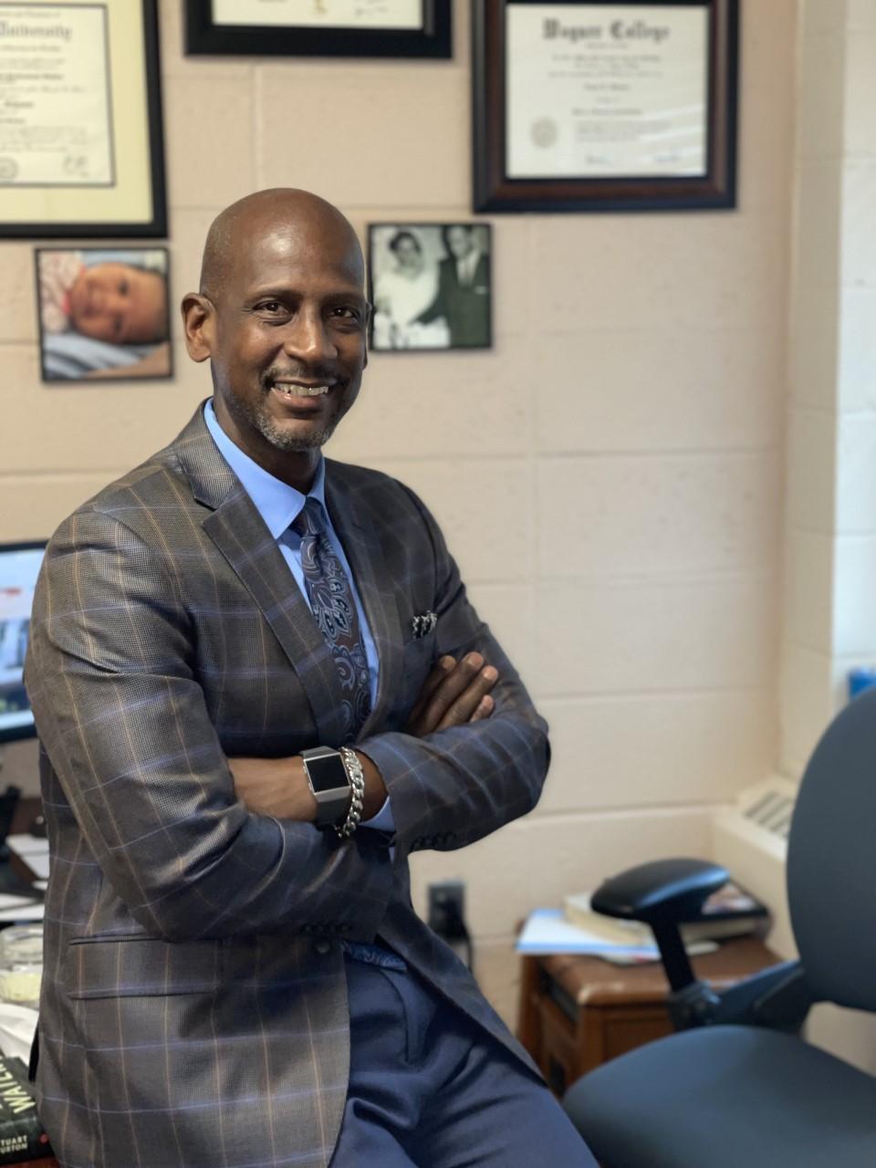 Assistant Principal Esrom Johnson