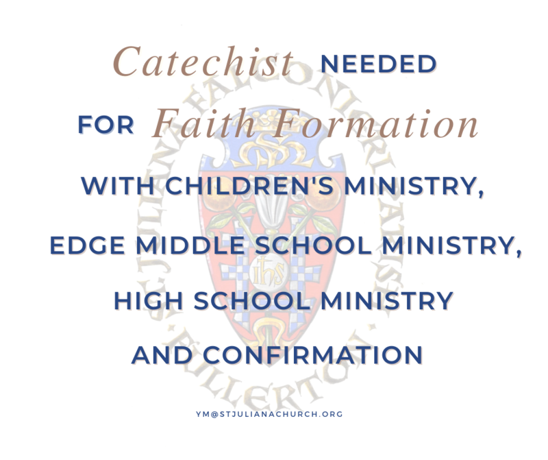 Catechists Needed! Featured Photo
