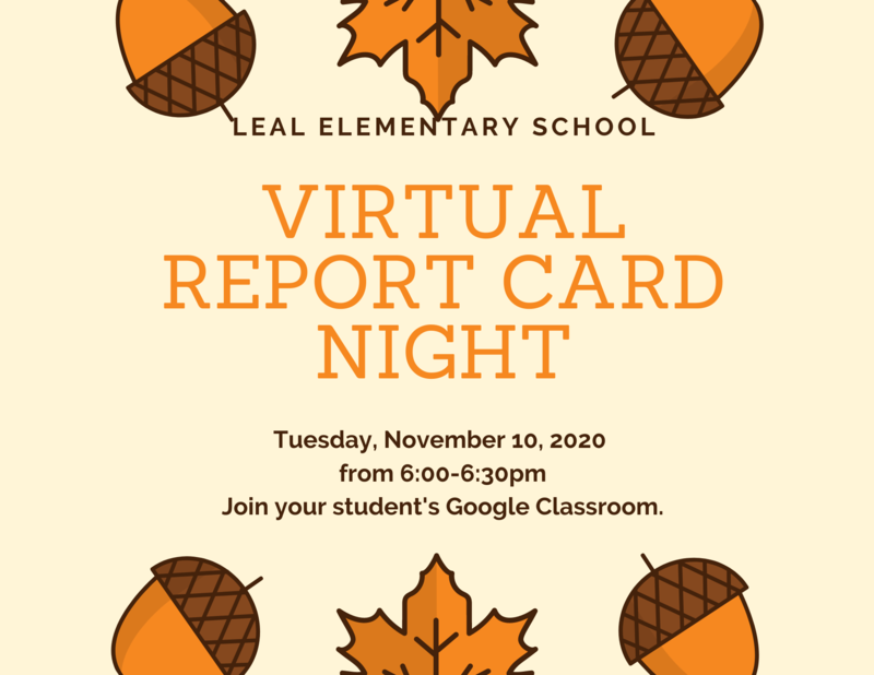 Virtual Report Card Night Featured Photo