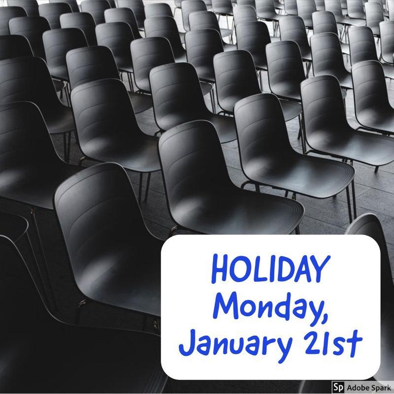 Holiday - Monday, January 21st Thumbnail Image