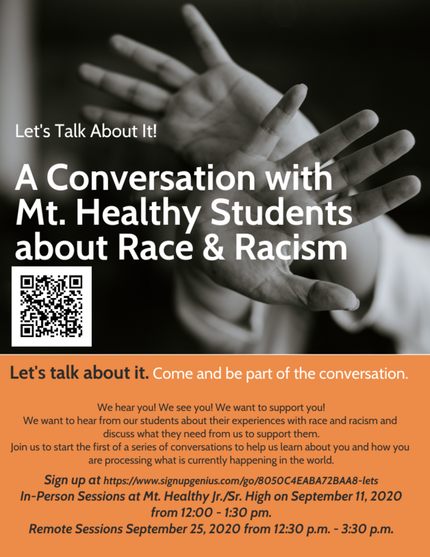seminar about race flyer