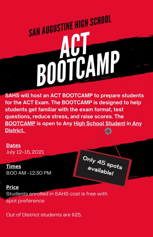ACT Summer Bootcamp