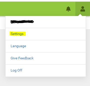 IC User Settings