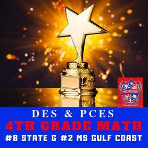 PCSD 4th Grade MTH Number 8 in state and Number 2 on the Coast