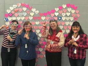 Heart Quilt with more staff